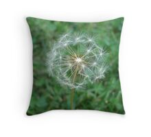 Lowly Dandelion Throw Pillow