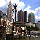 Columbus Cityscape: The Santa Maria by aeronaut
