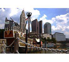 Columbus Cityscape: The Santa Maria Photographic Print