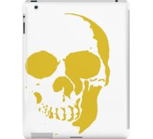 golden skull iPad Case/Skin