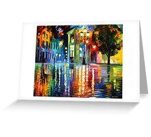 Wonderful Night — Buy Now Link - www.etsy.com/listing/220833195 Greeting Card