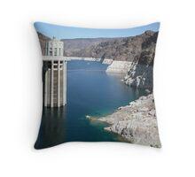 Hover Dam Throw Pillow