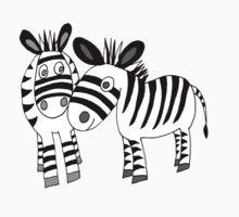 zebra love Kids Clothes