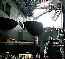 kyoto train station by Jan Stead JEMproductions
