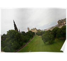 Princes Street Gardens Edinburgh Poster