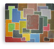 city scapes/top of the city Canvas Print