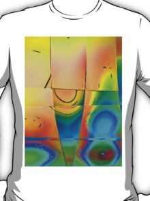 Colours in Reflection-Art Prints-Mugs,Cases,Duvets,T Shirts,Stickers,etc T-Shirt