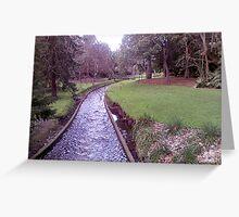 Bridge in Adelaide Botanic Gardens Greeting Card