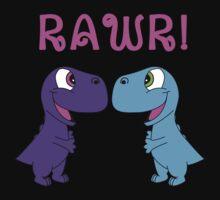 Dinosaur Love by UnitedsWorld