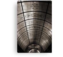 Arcade Roof Canvas Print