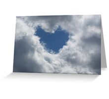 Love From Above Greeting Card