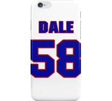 National football player Dale Farley jersey 58 iPhone Case/Skin