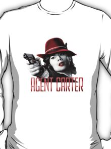 Agent Carter - Red T-Shirt