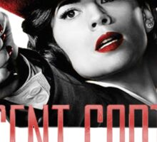 Agent Carter - Red Sticker