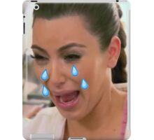 Kim Cryin Emoji Tears iPad Case/Skin