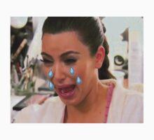 Kim Cryin Emoji Tears by sadgurl00
