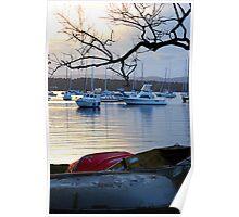 Tinnies Ashore - Valentine NSW Poster