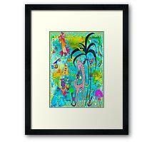 Tropic Delight Framed Print
