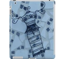 Blue Elegance - Plate No.# I iPad Case/Skin