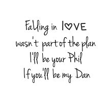 Falling in love (Dan & Phil) by what- doyoueveninternet