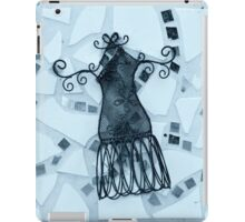 Blue Elegance - Plate No.# III iPad Case/Skin