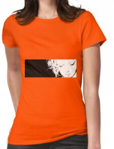 Whitty Art Portrait Womens Fitted T-Shirt