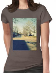 Come Into the Light Womens Fitted T-Shirt
