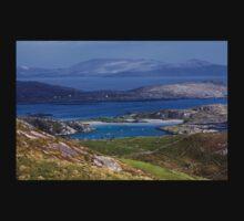 Derrynane Bay County Kerry Ireland One Piece - Short Sleeve