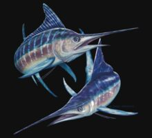 Striped Marlin by David Pearce