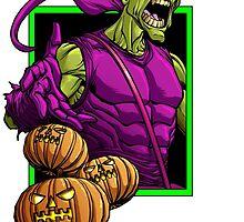 Green Goblin by dlxartist