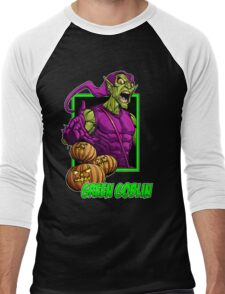 Green Goblin Men's Baseball ¾ T-Shirt
