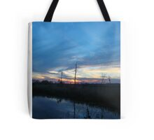 Blue Sky Smilin' at Me (OK so it was sundown) Tote Bag