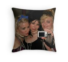 photograph of the photographers Throw Pillow