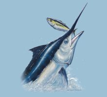 Black Marlin & Tuna Kids Clothes