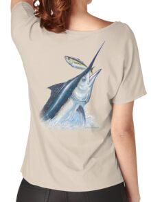 Black Marlin & Tuna Women's Relaxed Fit T-Shirt