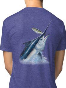 Black Marlin & Tuna Tri-blend T-Shirt