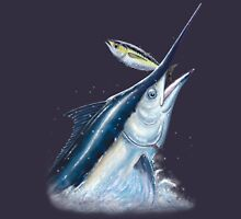 Black Marlin & Tuna Unisex T-Shirt