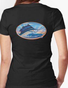 Sailfish Sunrise Womens Fitted T-Shirt