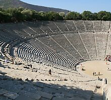 The Theatre at Epidavros by DRWilliams