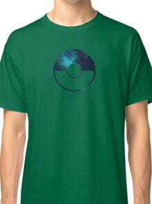 Galaxy Pokeball - ver Blue Classic T-Shirt