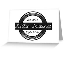 Killer Instinct Fight Club Greeting Card