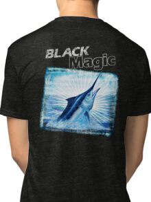 BLACK MAGIC - Black Marlin Tri-blend T-Shirt