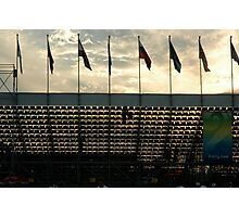 End of the Olympics Photographic Print