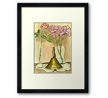 Ring a bell ding dong/ Framed Print