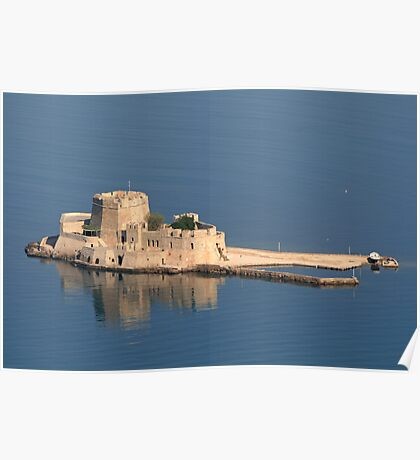 Bousdri, the harbour fortress protecting Nafplion Poster