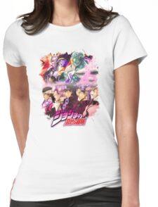 JoJo's Bizarre Adventure - Stardust Crusaders Japanese Logo Womens Fitted T-Shirt