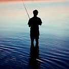 Determined to catch a fish by Erin-Louise Hickson