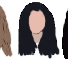 Fifth Harmony Characters by foreverbands