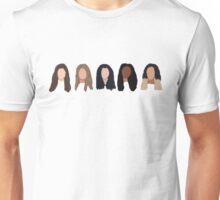 Fifth Harmony Characters Unisex T-Shirt