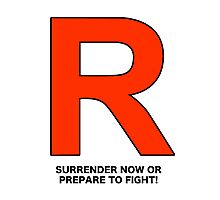 Team Rocket (Surrender Now or Prepare to Fight!) Photographic Print